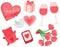 Stock Image : Valentine's Day Set