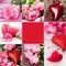 Stock Image : Valentines collage
