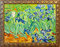 Stock Image : Van Gogh Irises Painting