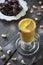 Stock Image : Vanilla and caju milkshake