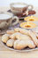 Stock Image : Vanilla crescents