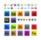 Stock Image : Various and Adobe icons set
