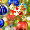 Stock Image : Various Christmas decorations