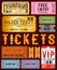 Stock Image : various ticket designs