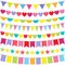 Stock Image : Vector Bunting