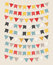 Stock Image : Vector bunting party flags