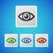 Stock Image : Vector eye icon