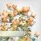 Stock Image : Vector Flower Watercolor Roses Bush