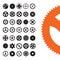 Stock Image : Vector Gears Set