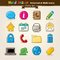 Stock Image : Vector Hand Draw Internet And Web Icon Set