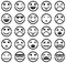 Stock Image : Smiley icons