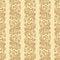 Vector vintage floral seamless pattern element