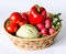 Stock Image : Vegetable basket