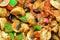 Stock Image : Vegetable chilli background.