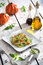 Stock Image : Vegetarian spaghetti