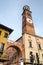Stock Image : Verona, Torre dei Lamberti