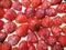 Stock Image : Verse aardbeien bovenop cake