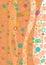Stock Image : Vertical floral backdrop