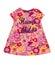 Stock Image :  Vestido del bebé con el estampado de flores