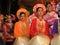 Stock Image : Vietnamese national costume.