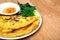 Stock Image : Vietnamese style pancake