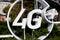Stock Image : View of 4G  LTE wireless public hotspot