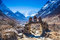 View on Himalaya mountains landscape