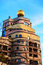 Stock Image : The view of Hundertwasser house in Darmstadt, Germany