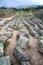 Stock Image : View of the Inca ruins of Ingapirca