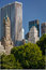 Stock Image : View of Midtown, Manhattan, South East Central Par