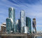 Stock Image : View on new Moscow City buildings