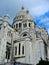 View of the Sacre-Coeur Basilica in Paris, France, Paris