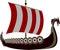 Stock Image : Viking ship