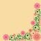 Stock Image : Vintage floral  background