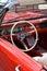 Stock Image : Vintage Ford Mustang in Kraków Museum