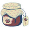 Stock Image : Vintage jam jar