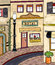 Stock Image : Vintage Main Street