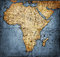 Stock Image : Vintage map Africa
