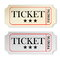 Stock Image : Vintage tickets