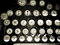 Stock Image : Vintage Typewriter Keys