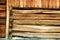 Stock Image : Vintage wood construction
