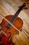 Stock Image : Violin still life