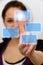 Stock Image : Virtual interface