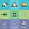 Stock Image : Virtual reality flat icons