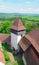Stock Image : Viscri fortified church in tranyslvania