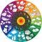 Stock Image : Vitamin Wheel