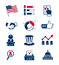 Stock Image : Voting and elections icons