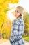 Stock Image :  Vrouw in park