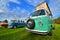 Stock Image : Vw transporter classic camping van