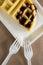 Stock Image : Waffles